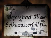Beschilderung Wanderwegenetz im Harz durch den Harzklub_MG_3391