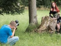 Fotograf Daniel Kühne aus Harzgerode beim Fotoshooting