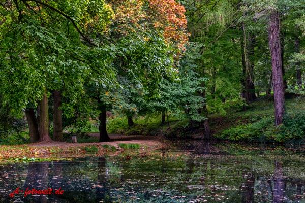 Schlosspark Blankenburg Harz
