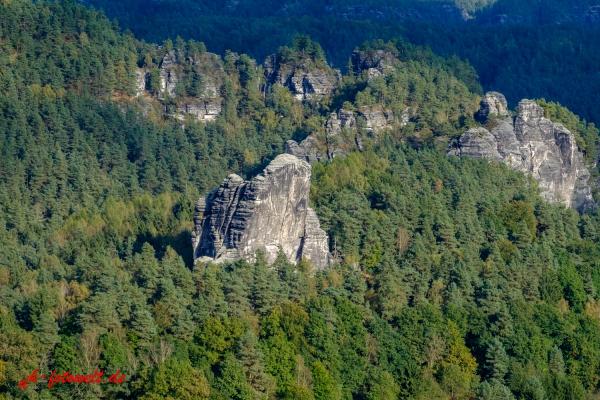 Nationalpark sächsische Schweiz Elbsandsteingebirge Bastei