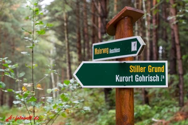 Beschilderung Wanderwegenetz Elbsandsteingebirge