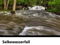 Selkewasserfall bei Hochwasser