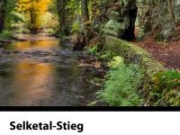 Selketal-Stieg Wanderweg Felsdurchbruch