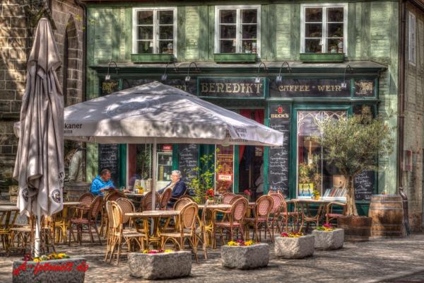 Quedlinburg Zentrum Gaststätte Benedikt