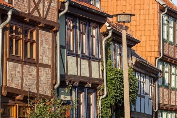 Quedlinburg mittelalterliche Gassen