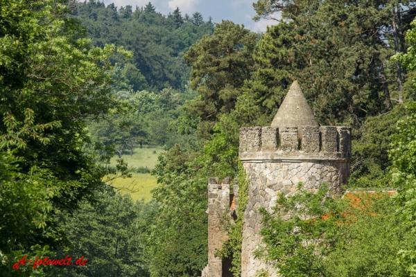 Roseburg bei Ballenstedt im Harz