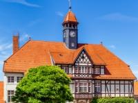 Ansicht Rathaus Gernrode im Harz