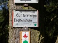 Beschilderung Fernwanderweg Selketal-Stieg im Harz