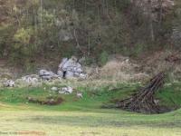 Beschilderung Rundwanderweg Karstlandschaft Südharz