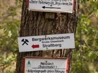 Beschilderung der Wanderwege im Harz