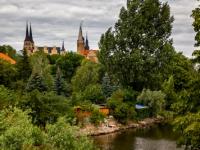 Blick auf das Merseburger Schloss