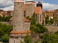 Blick auf die Altstadt von Bautzen