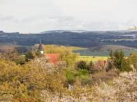 Blick von Timmenrode zur Teufelsmauer