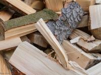 Brennholz gespalten Holz Scheite