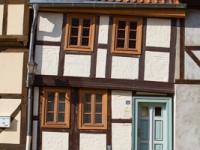 Fachwerkhaus auf dem Münzberg in Quedlinburg