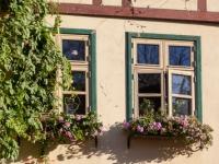 Fenster Fachwerkhaus in Quedlinburg
