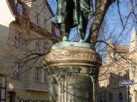 Guts Muths Statue in Quedlinburg
