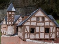 Model der Burg Anhalt in Ballenstedt