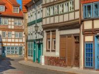 historische Altstadt von Halberstadt