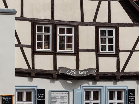 Welterbestadt Quedlinburg Cafe kaiser