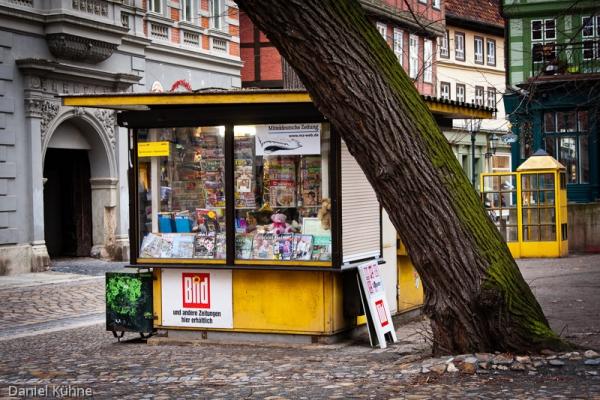 Zeitungskiosk Quedlinburg
