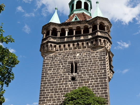 Turm der Stadtmauer Welterbestadt Quedlinburg