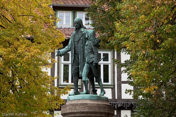 Statue in Quedlinburg
