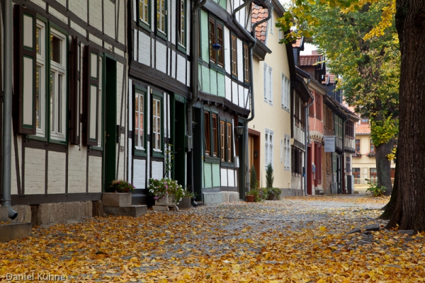 Herbst in Quedlinburg