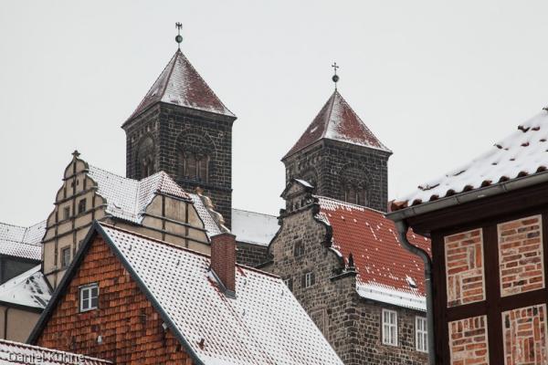 Welterbestadt Quedlinburg im Winter