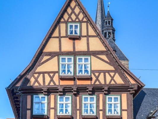 Fachwerkhaus Welterbestadt Quedlinburg