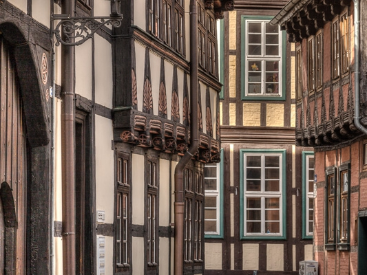 Bode Altstadt von Quedlinburg