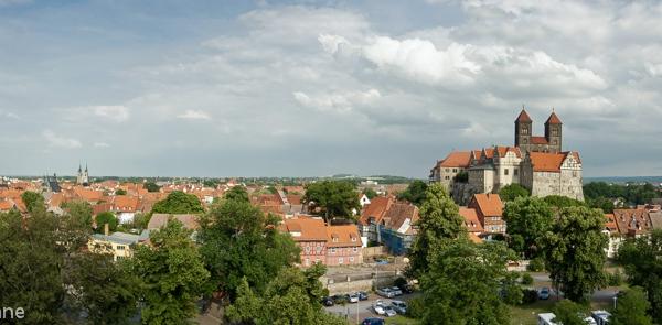 Panorama Welterbestadt Quedlinburg