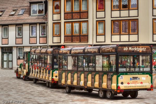 Welterbestadt Quedlinburg Quedlinburger Bimmelbahn