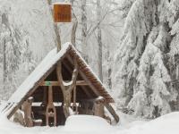 Schutzhütte im Bodetal bei Friedrichsbrunn