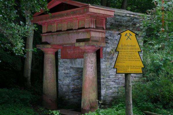 Kulturdenkmal Erbstollen Alexis Mägdesprung