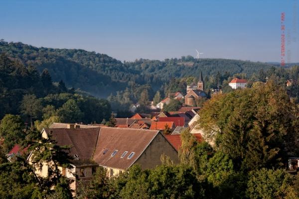 Blick über Güntersberge / Harz