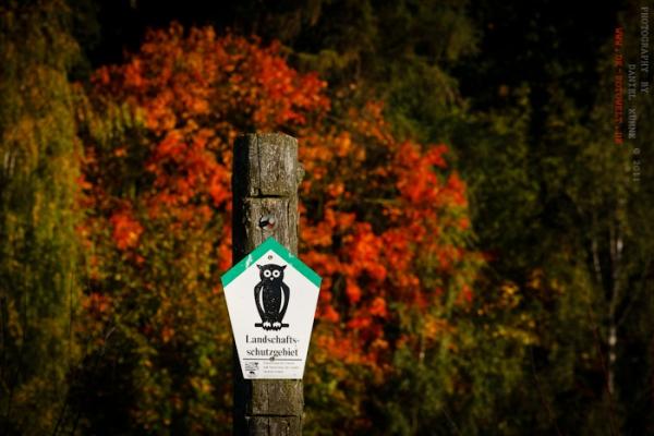 Landschaftsschutzgebiet im Herbst