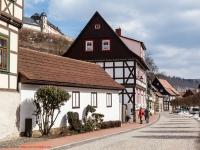 Stolberg Fachwerkstadt im Harz mit Blick zum Schloss