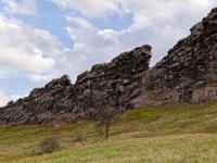 Teufelsmauer bei Thale im Harz