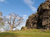 Teufelsmauer bei ballenstedt Harz Gegensteine