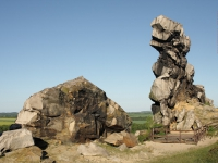 Teufelsmauer Harz Teufelsmauer-Stieg von Ballenstedt bis Blankenburg