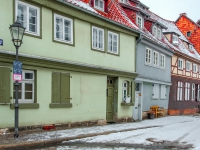 Welterbestadt Quedlinburg im Winter mit Schnee Winterimpressionen_DSF8611
