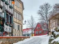 Welterbestadt Quedlinburg im Winter mit Schnee Winterimpressionen_DSF8621-Bearbeitet