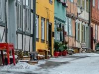 Welterbestadt Quedlinburg im Winter mit Schnee Winterimpressionen_DSF8639