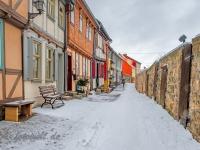 Welterbestadt Quedlinburg im Winter mit Schnee Winterimpressionen_DSF8642-Bearbeitet