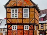 Welterbestadt Quedlinburg im Winter mit Schnee Winterimpressionen_DSF8647-Bearbeitet