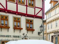 Welterbestadt Quedlinburg im Winter mit Schnee Winterimpressionen_DSF8659