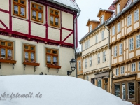 Welterbestadt Quedlinburg im Winter mit Schnee Winterimpressionen_DSF8660