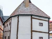 Welterbestadt Quedlinburg im Winter mit Schnee Winterimpressionen_DSF8662