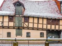 Welterbestadt Quedlinburg im Winter mit Schnee Winterimpressionen_DSF8663